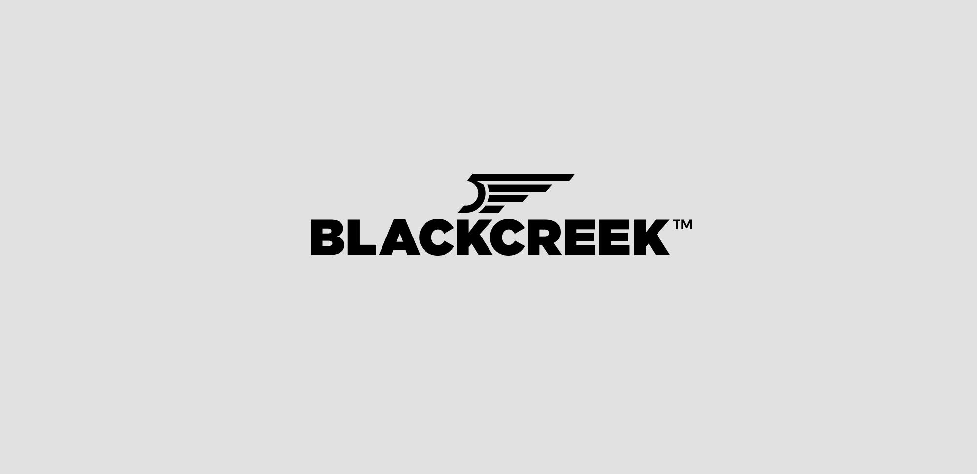 BlackCreek Firearms Logo & Identity Design