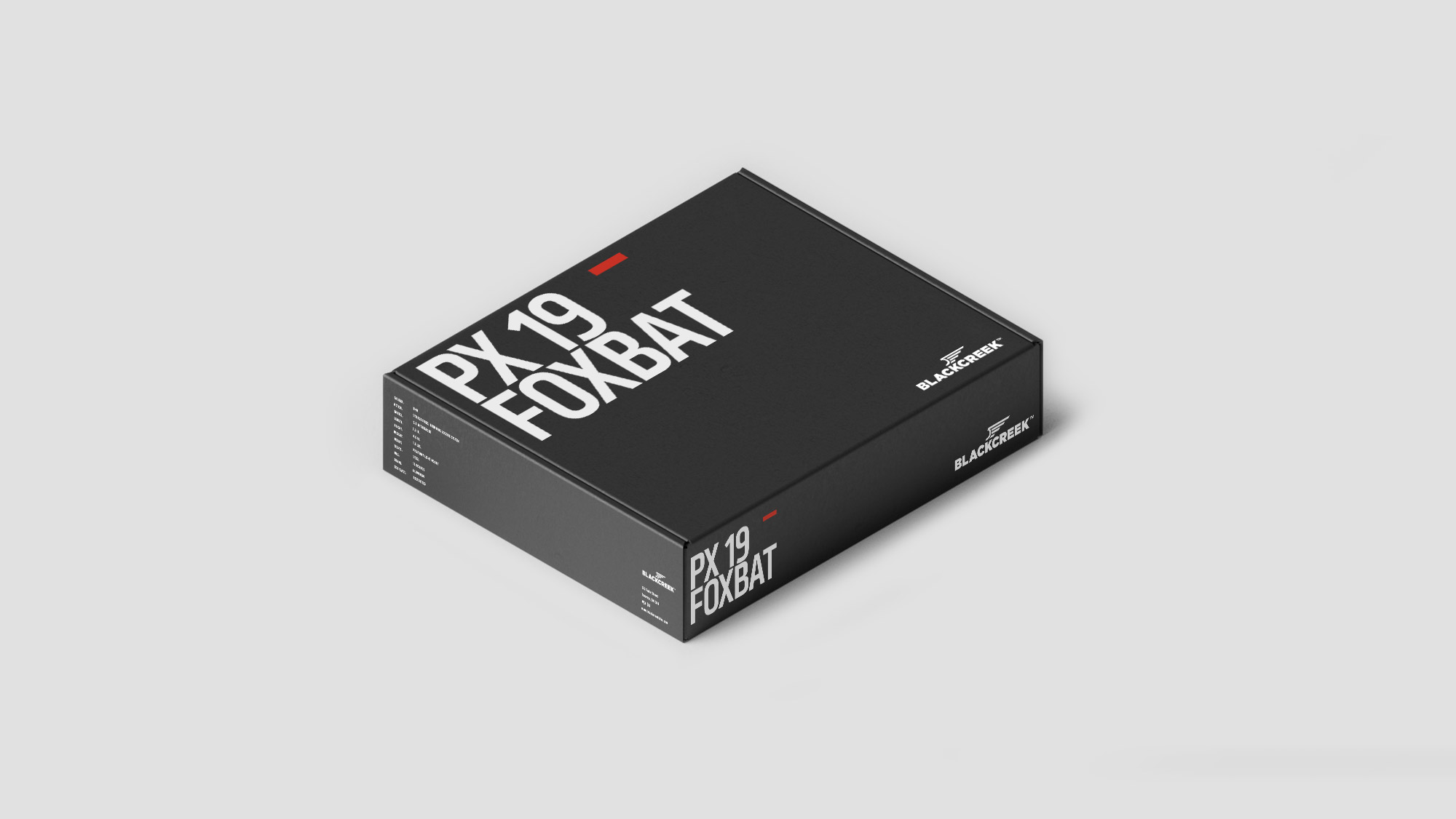 Firearm Product Packaging Box Design