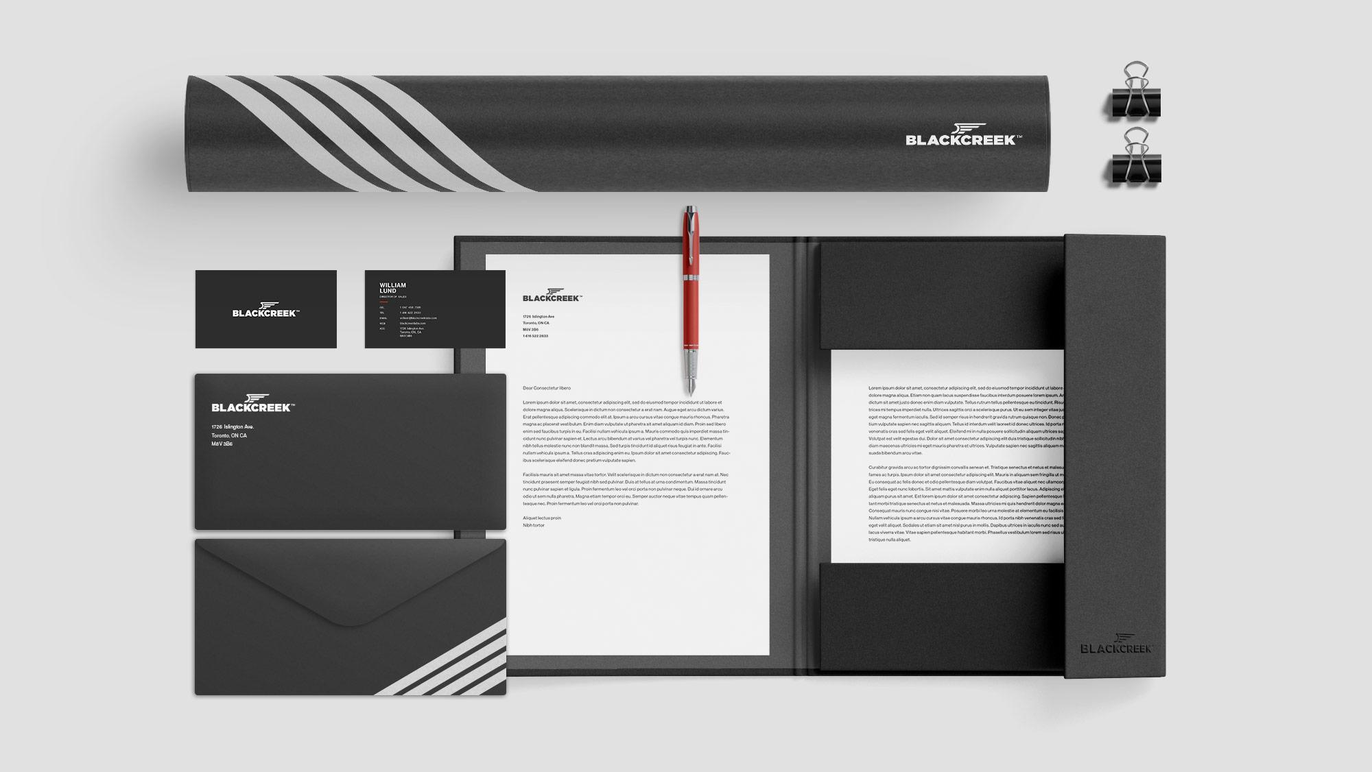 Letterhead, Business Card & Stationery Design