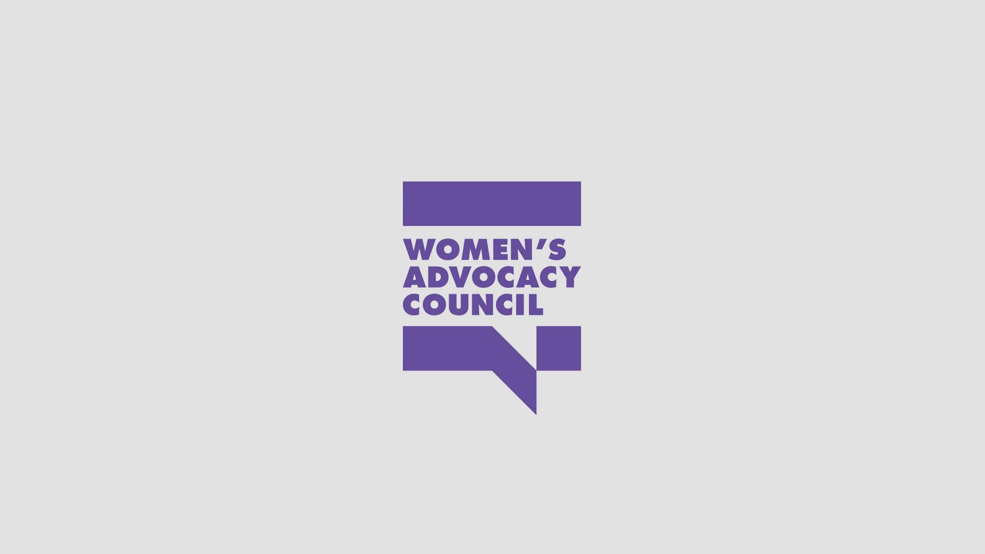 Women's Advocacy Council Logo & Identity Design