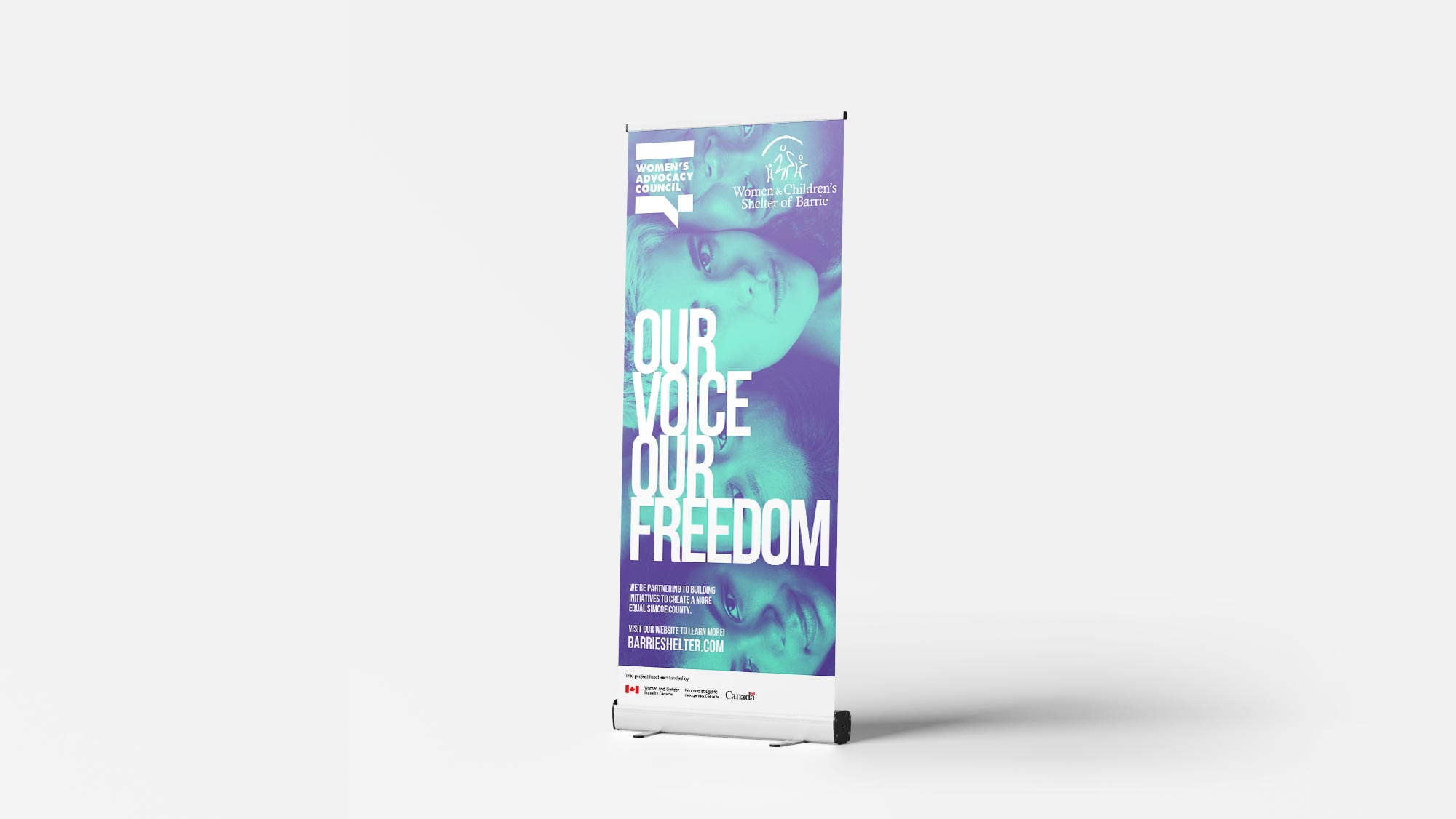 Charity Pull Up Banner Design
