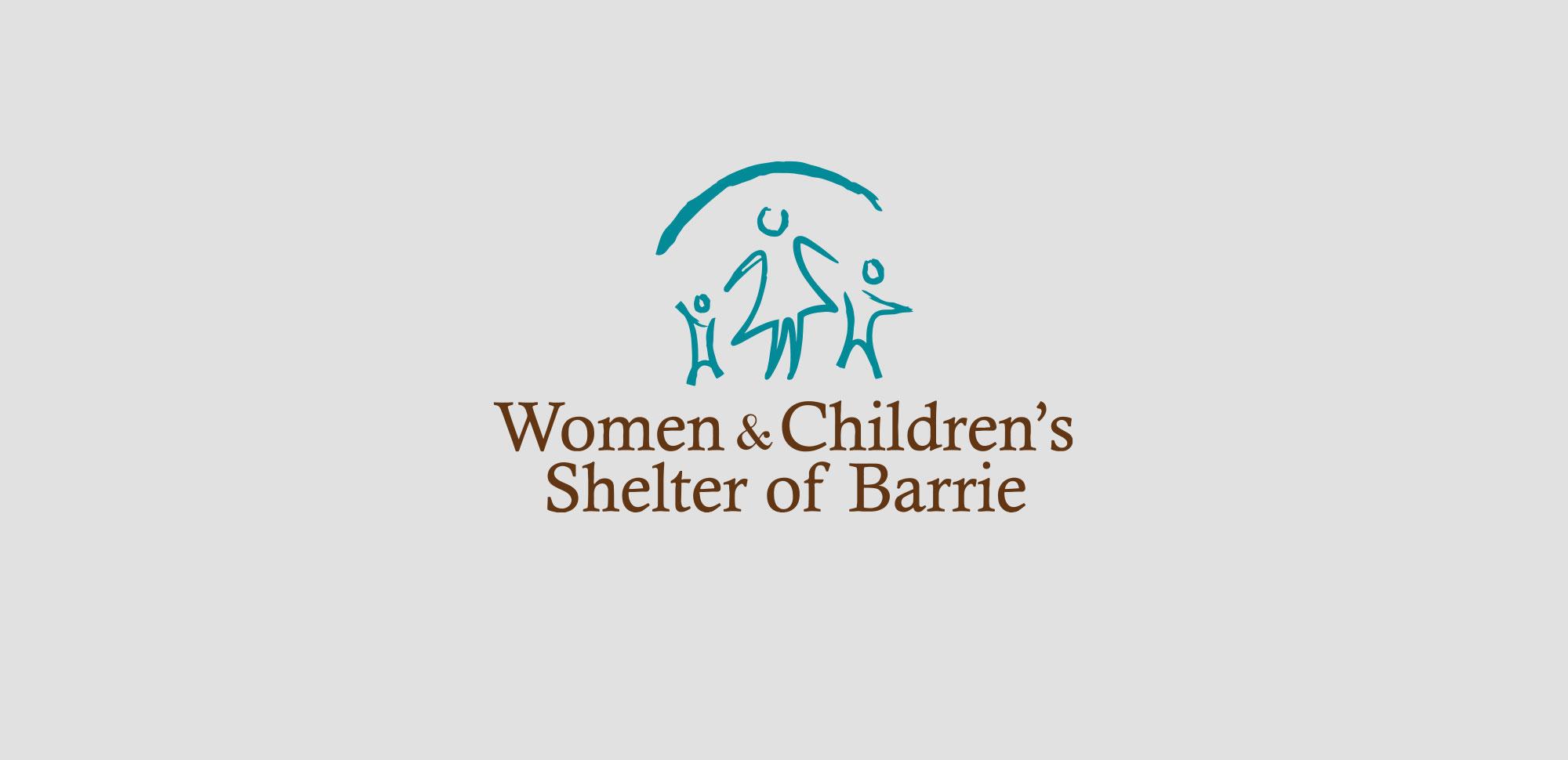 Women & Children's Shelter of Barrie Logo & Identity Design