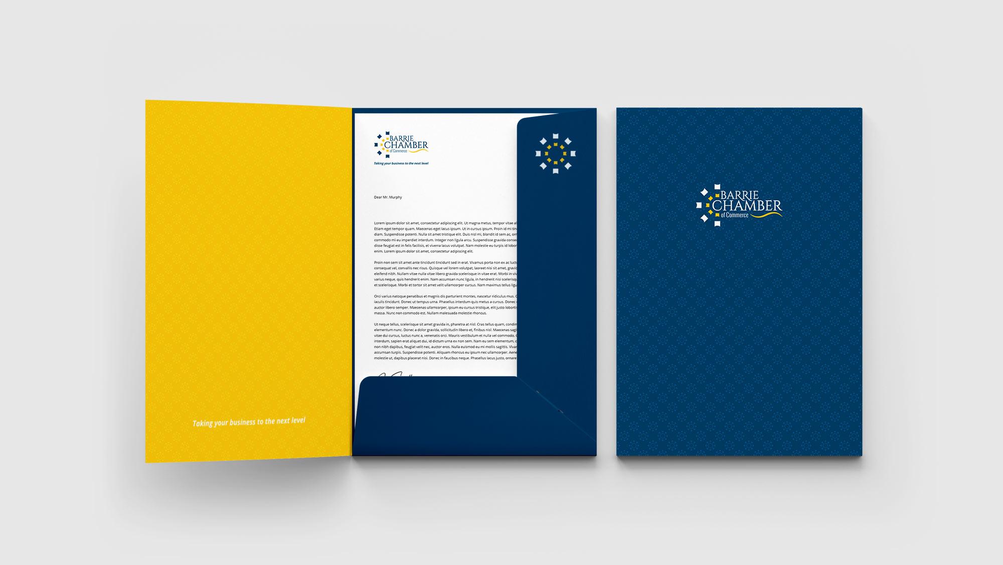 Custom Pocket Folder Design