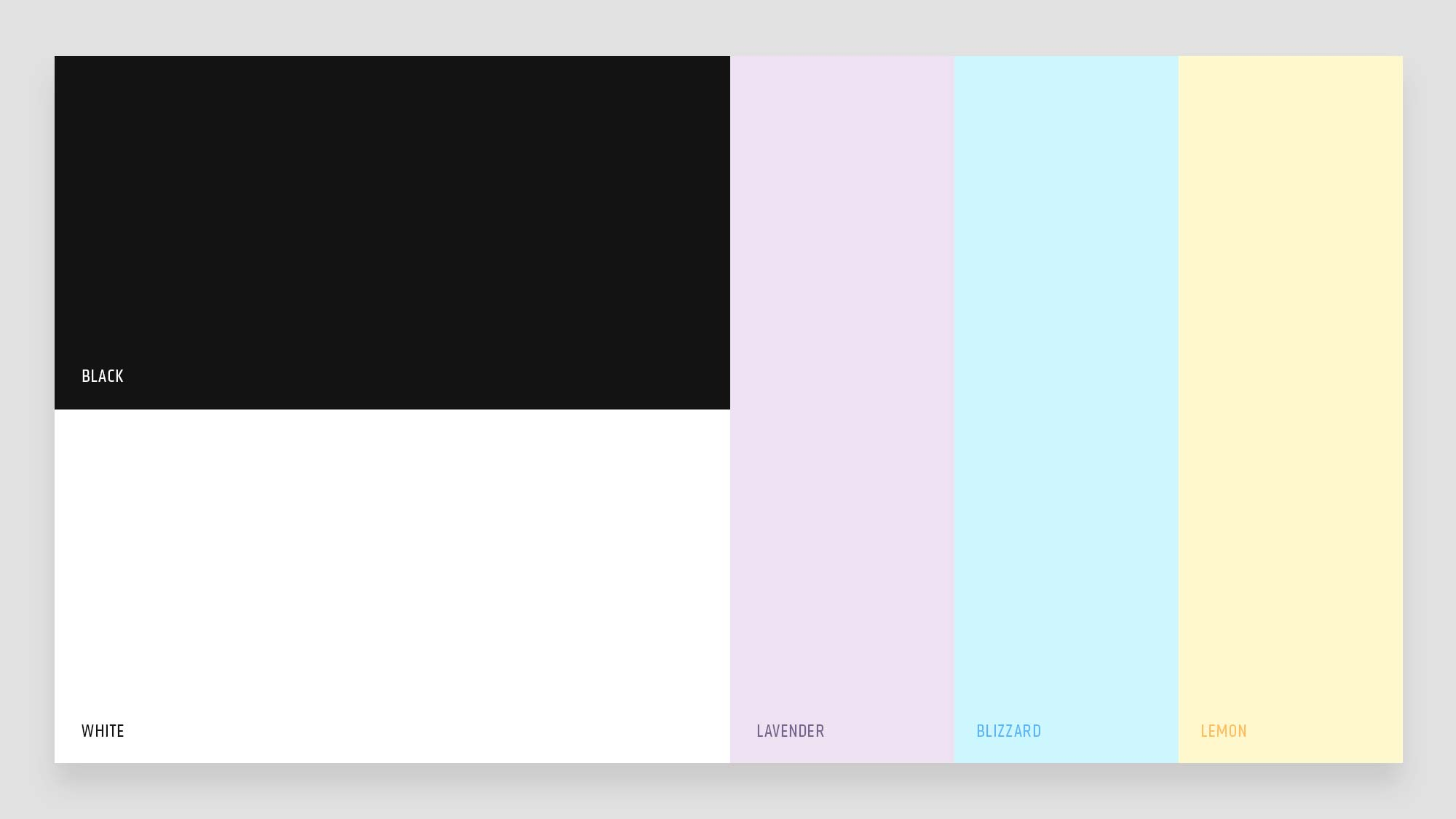 Named Brand Colours