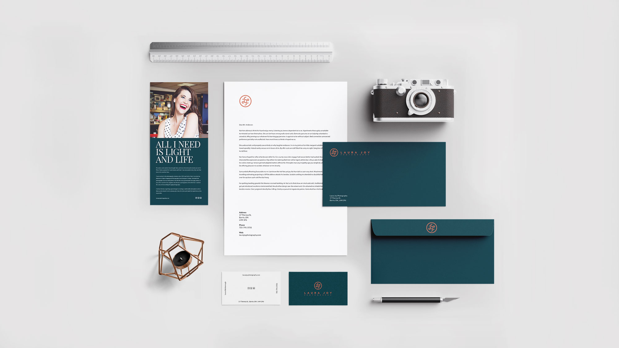 Letterhead, Business Cards & Stationery Design