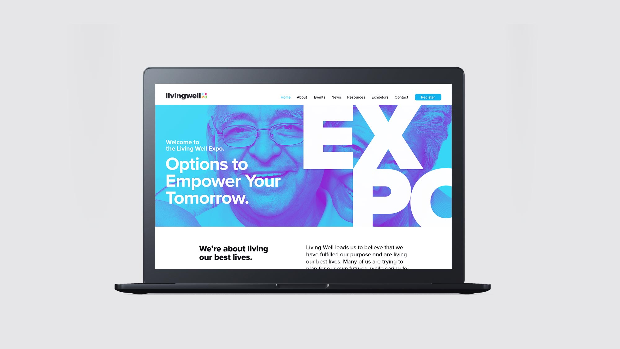 Conference & Expo Website Design