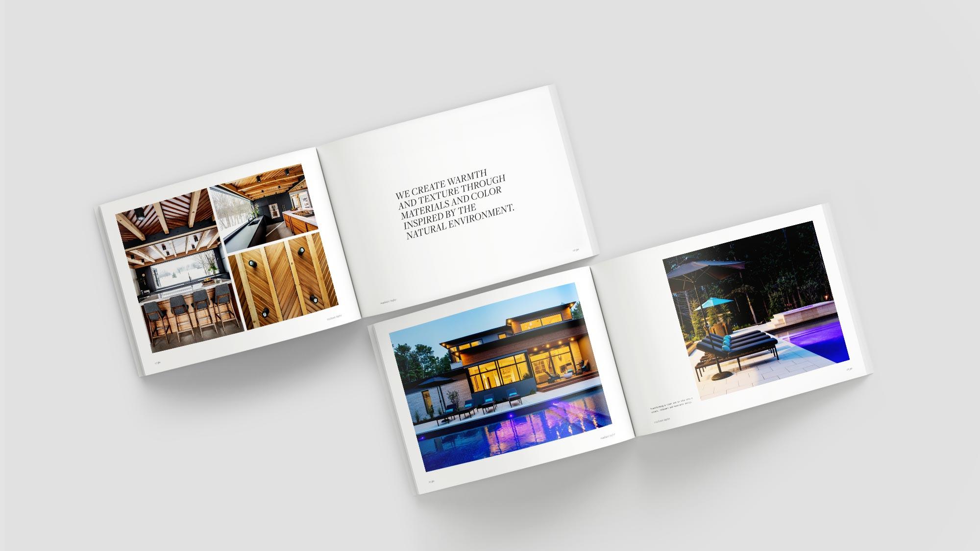 Architecture Portfolio Book Design