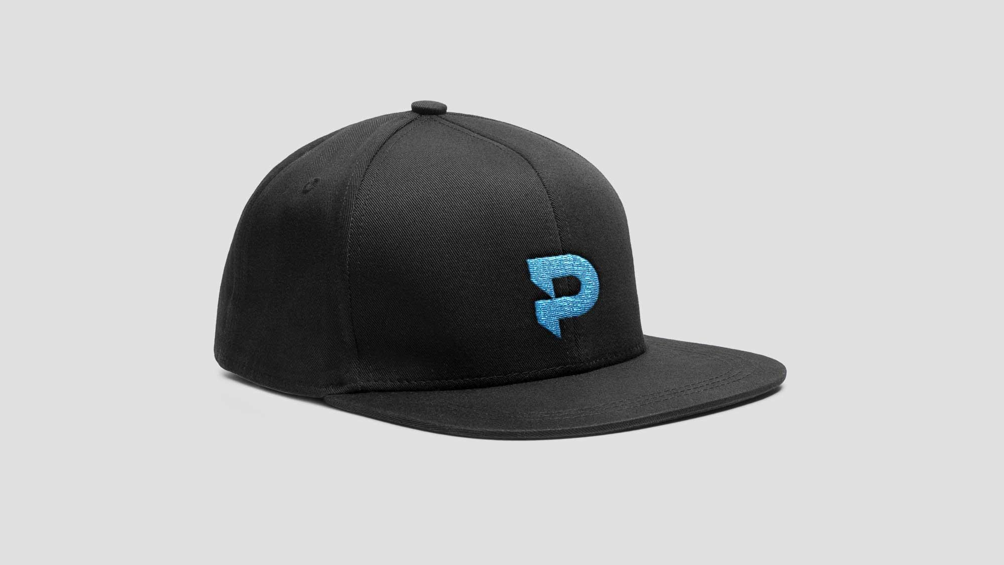 Black Baseball Hat Design