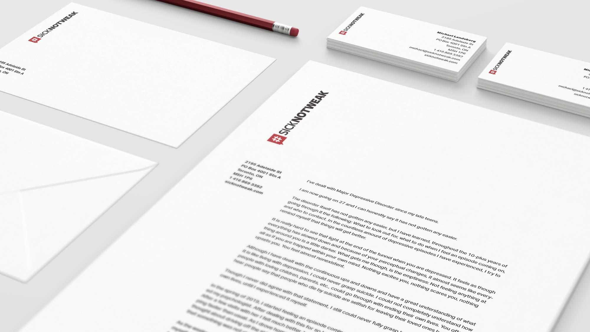 Letterhead & Stationery Design